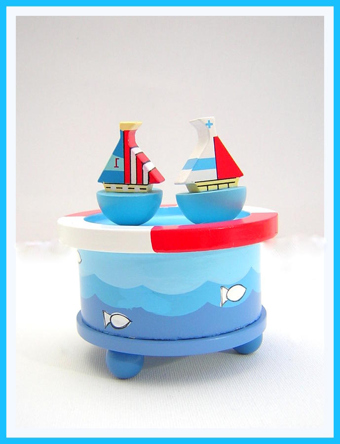 Sailboat Musical Box