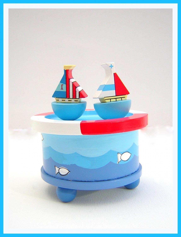 Sailboat Musical Box