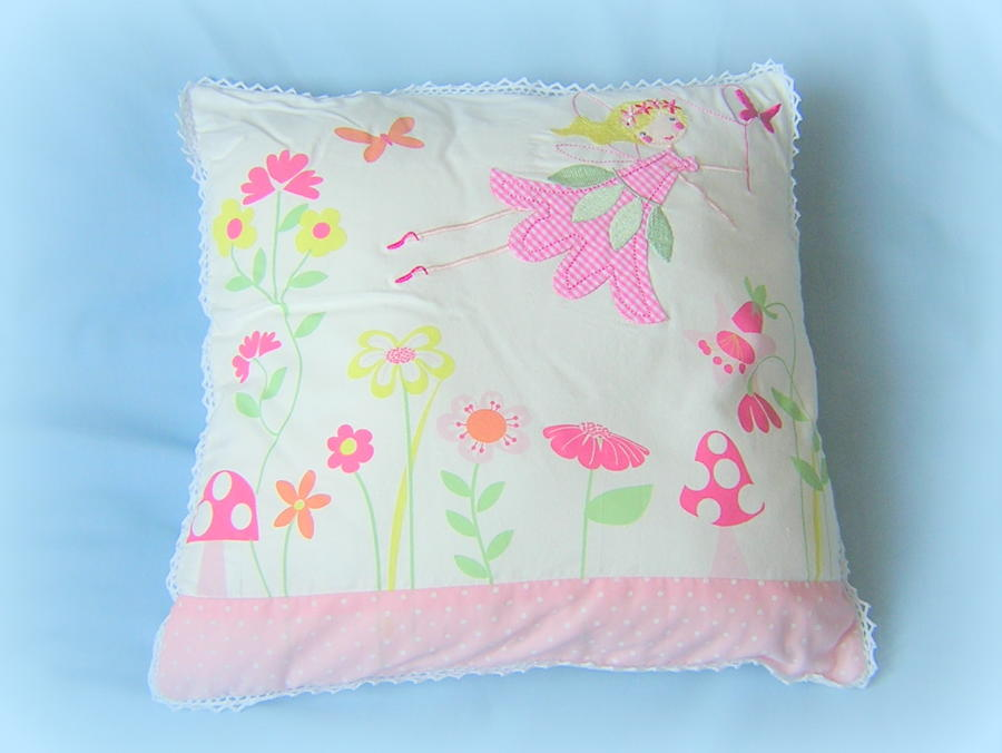 Sugar Plum Fairy cushion