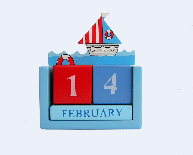 Sailboat Calendar