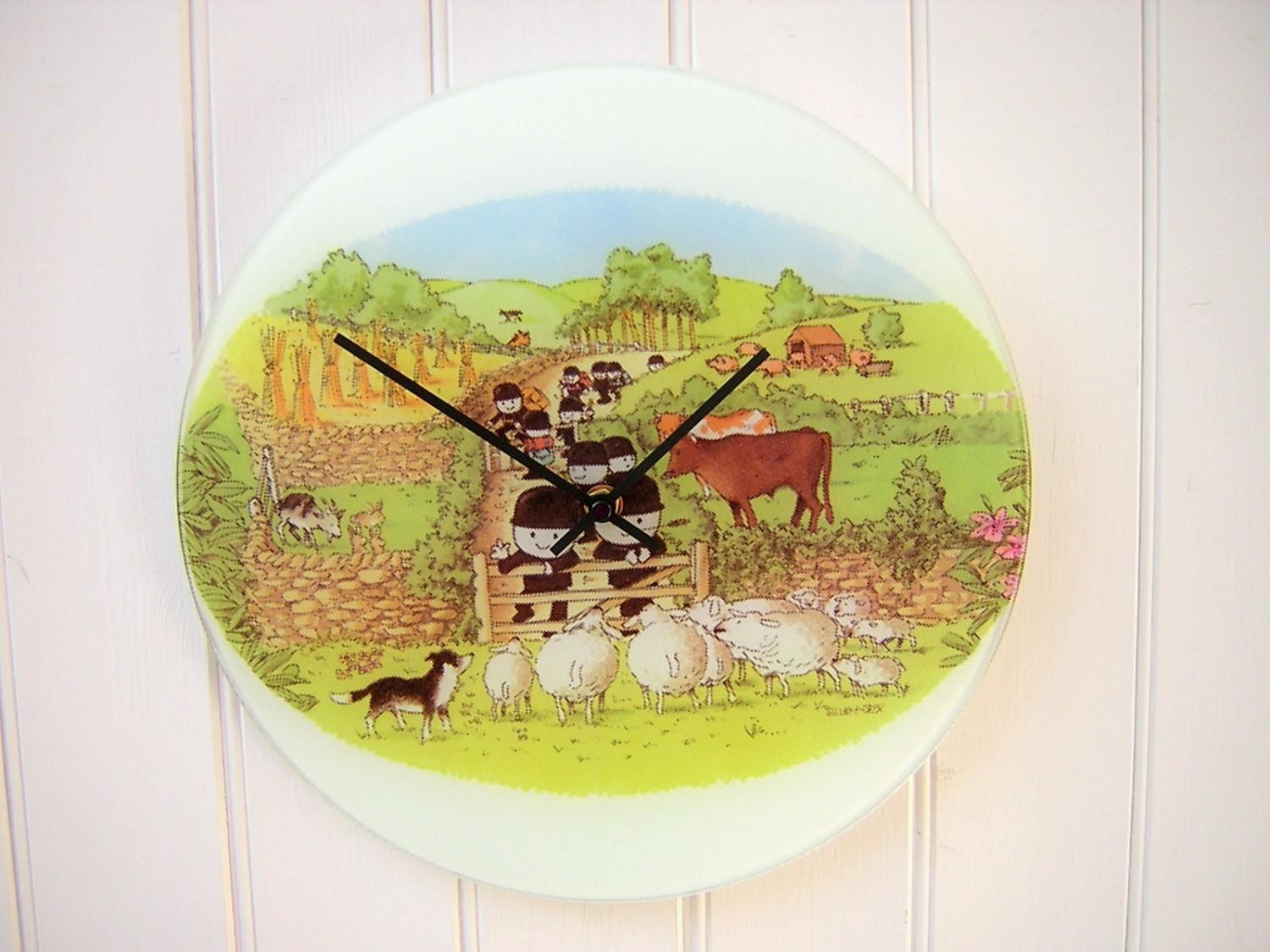 Fred the Flourgrader Clock