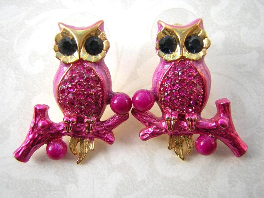 Ollie Owl Earrings
