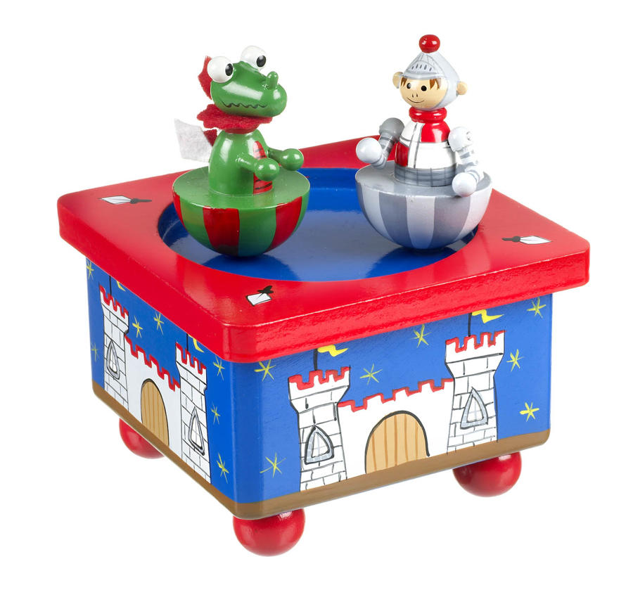 Knight and Dragon Musical Box