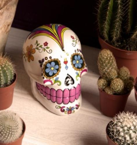Mexican Sugar Skull Moneybox
