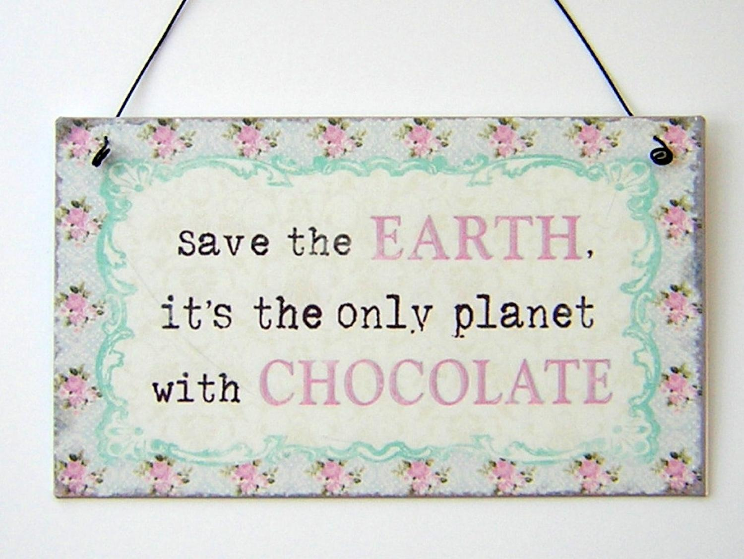Save the Earth Plaque