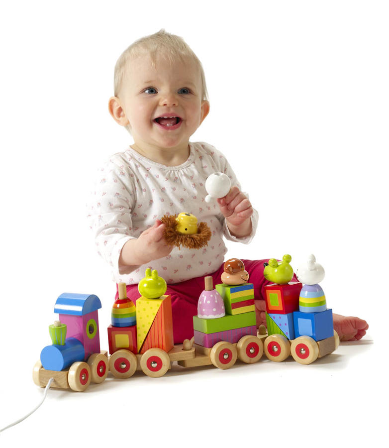 Animal Puzzle Train Activity Toy