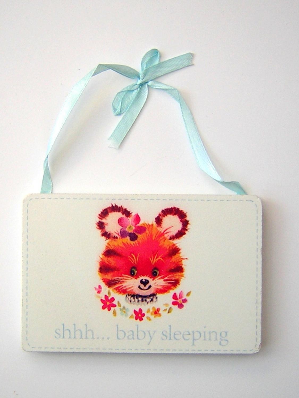 Shh... Baby Sleeping Plaque