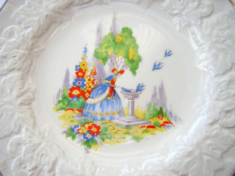 Country Garden Plate