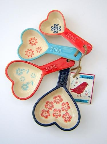 Hearts Measuring Spoons