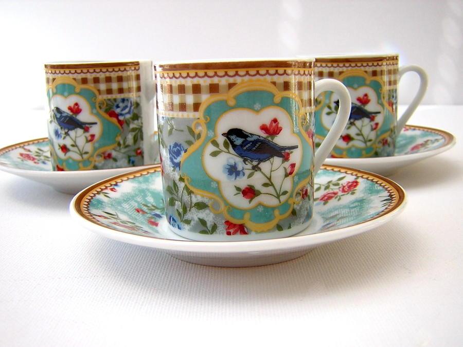Bluebird Espresso Set
