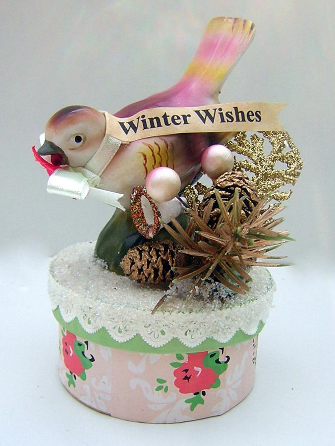 Winter Wishes Trinket/Gift Box