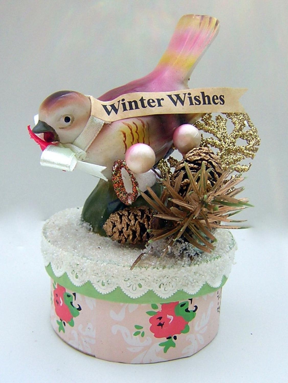 Winter Wishes Trinket/Gift Box
