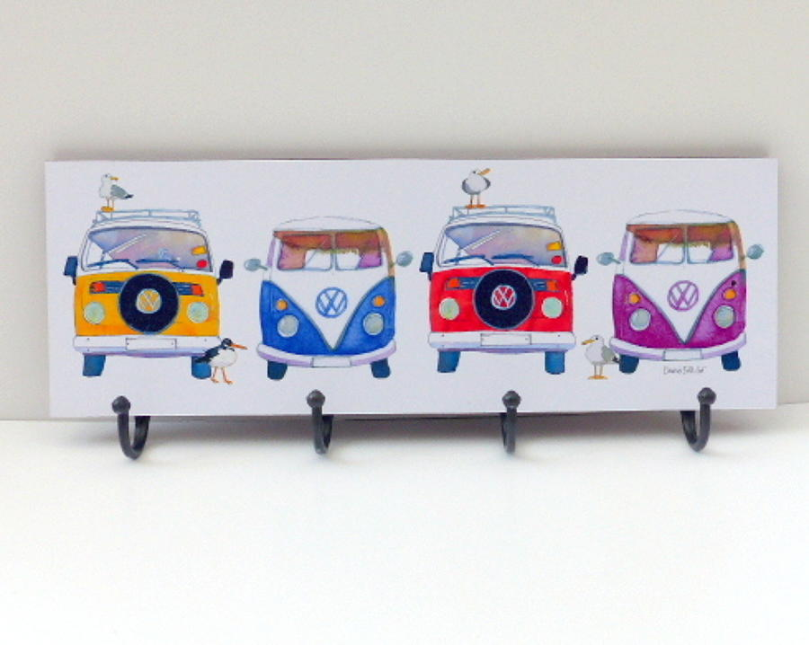 Campervans Metal Hooks