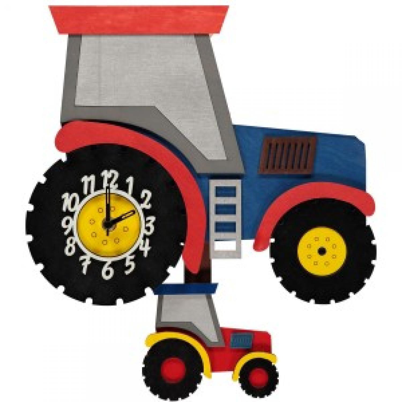 Tractor Pendulum Clock