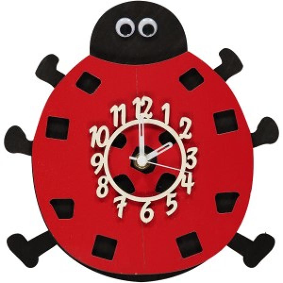 Ladybird Clock