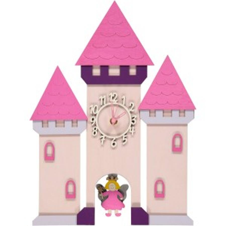 Fairy Castle Pendulum Clock