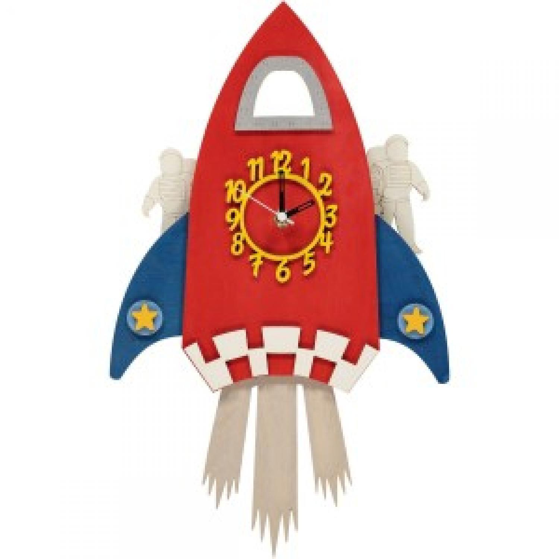 Rocket Pendulum Clock