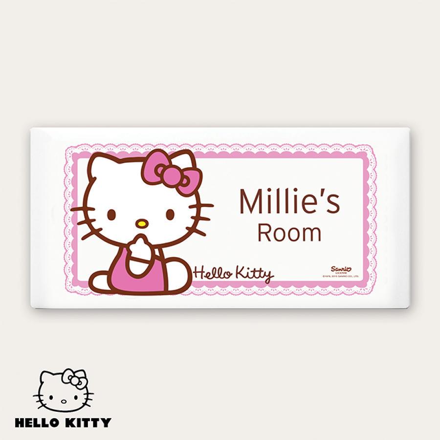 Hello Kitty Bow Door Plaque