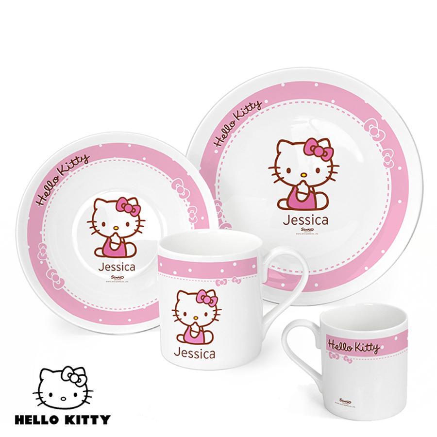 Hello Kitty Bow Breakfast Set