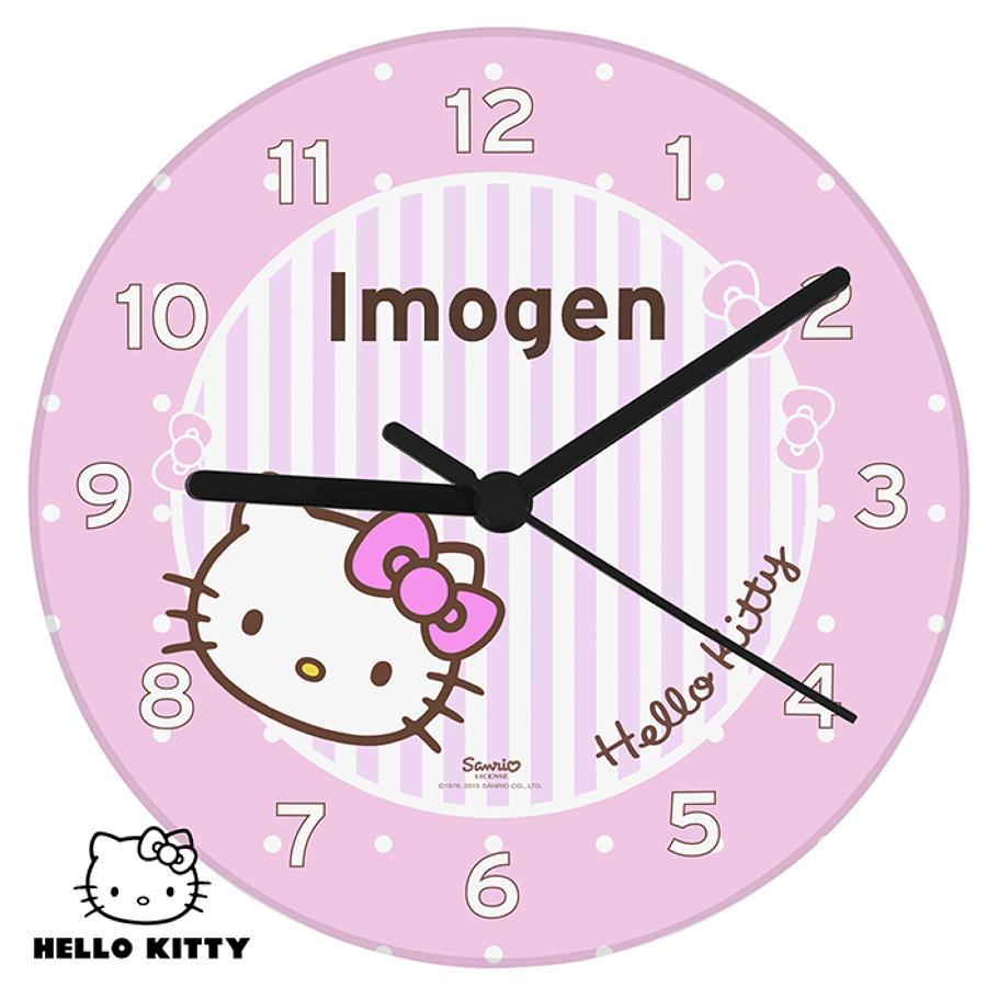 Hello Kitty Bow Clock