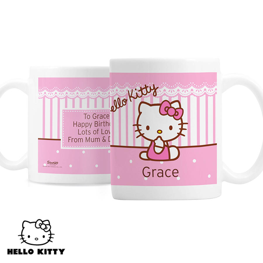Hello Kitty Bow Plastic Mug