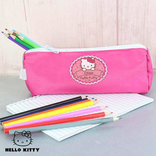 Hello Kitty Floral Pencil Case