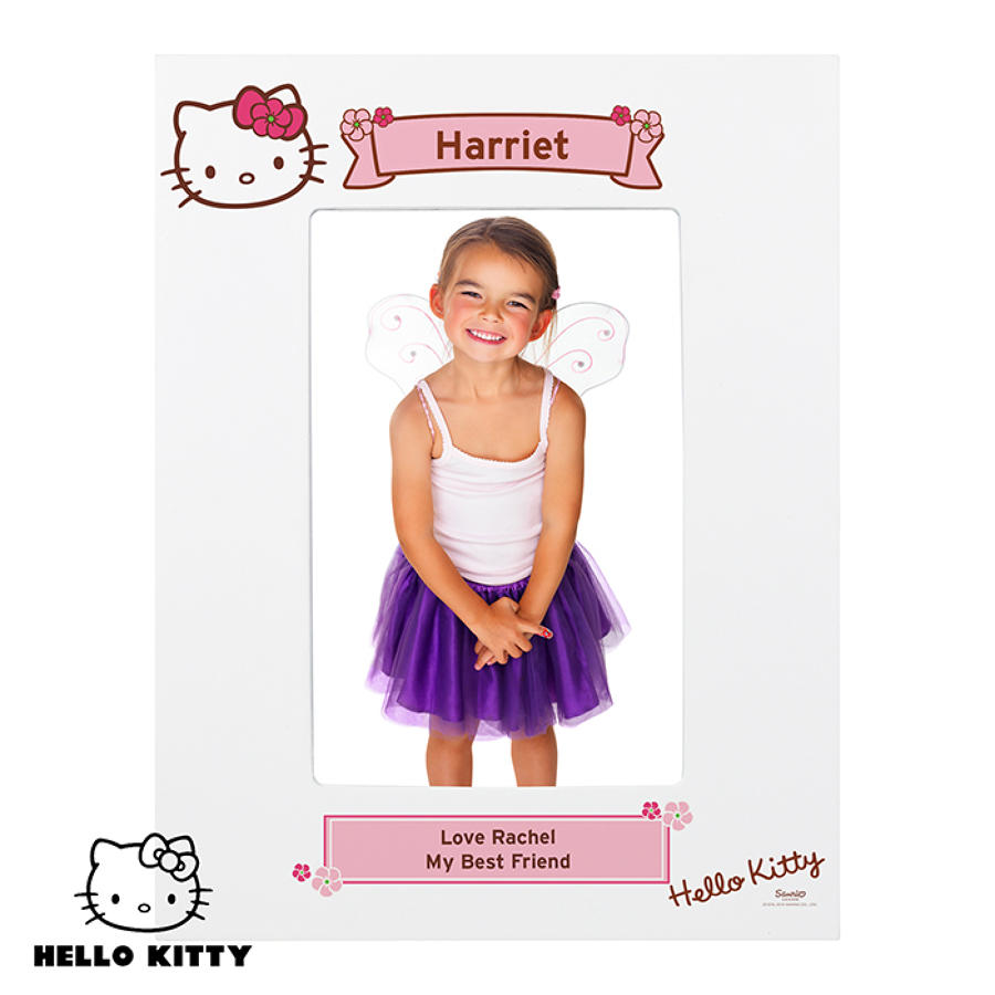 Hello Kitty Floral 6x4 Photo Frame
