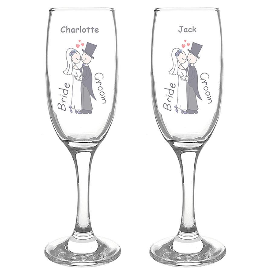 Cartoon Couples Flute