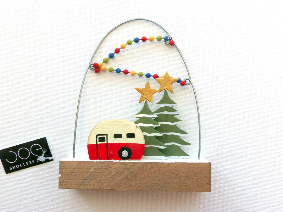 Christmas Caravan Tree Decoration
