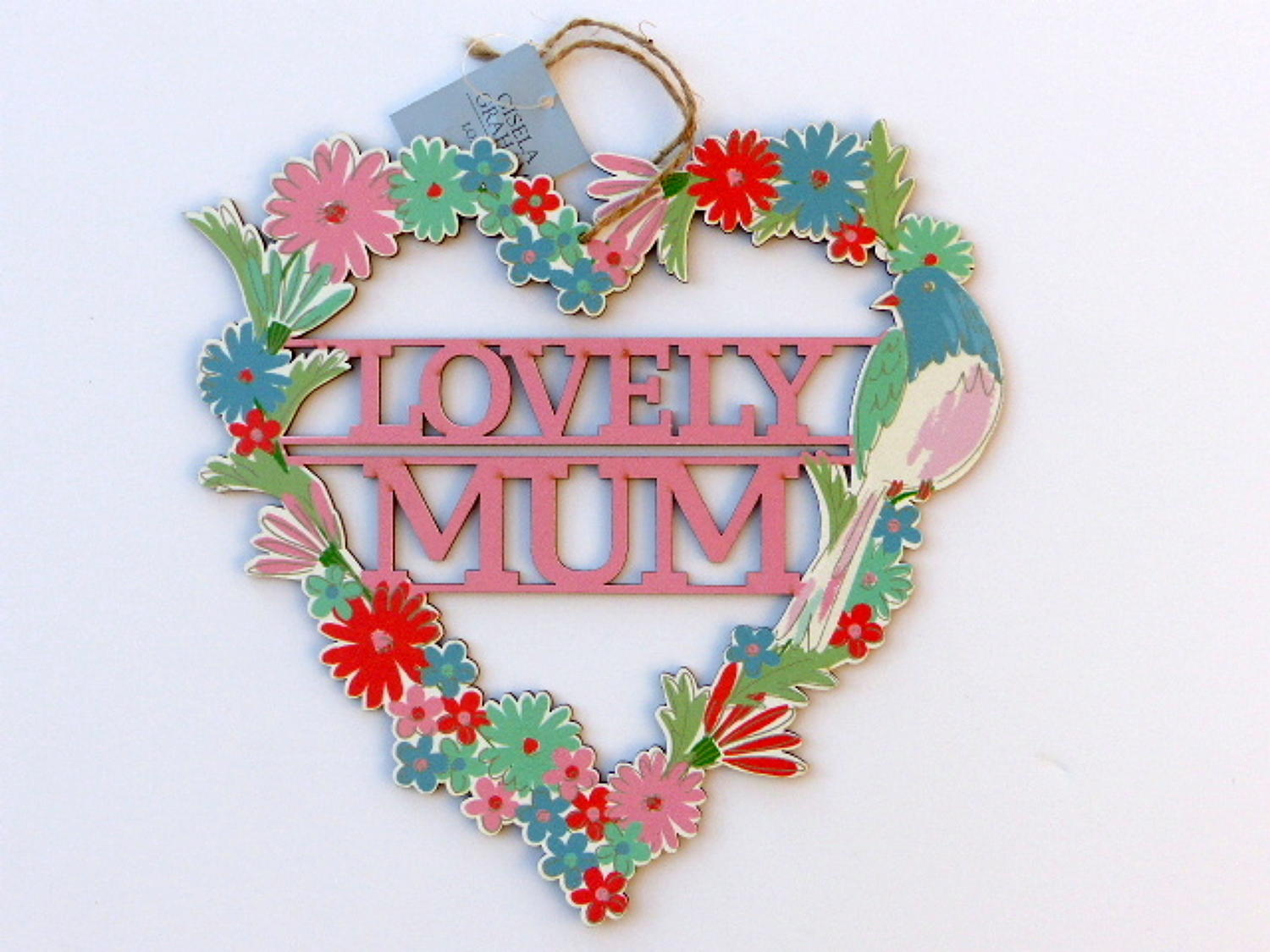Lovely/Special Mum Hanging Heart