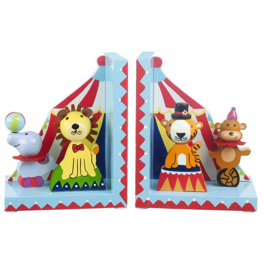 Vintage Circus Bookends