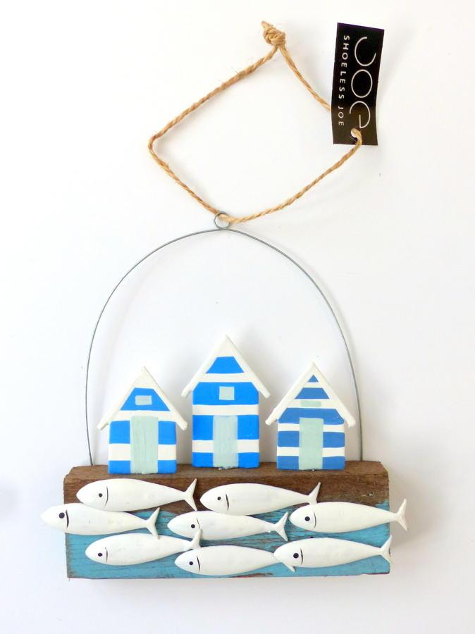 Shoeless Joe Beach Huts Decoration