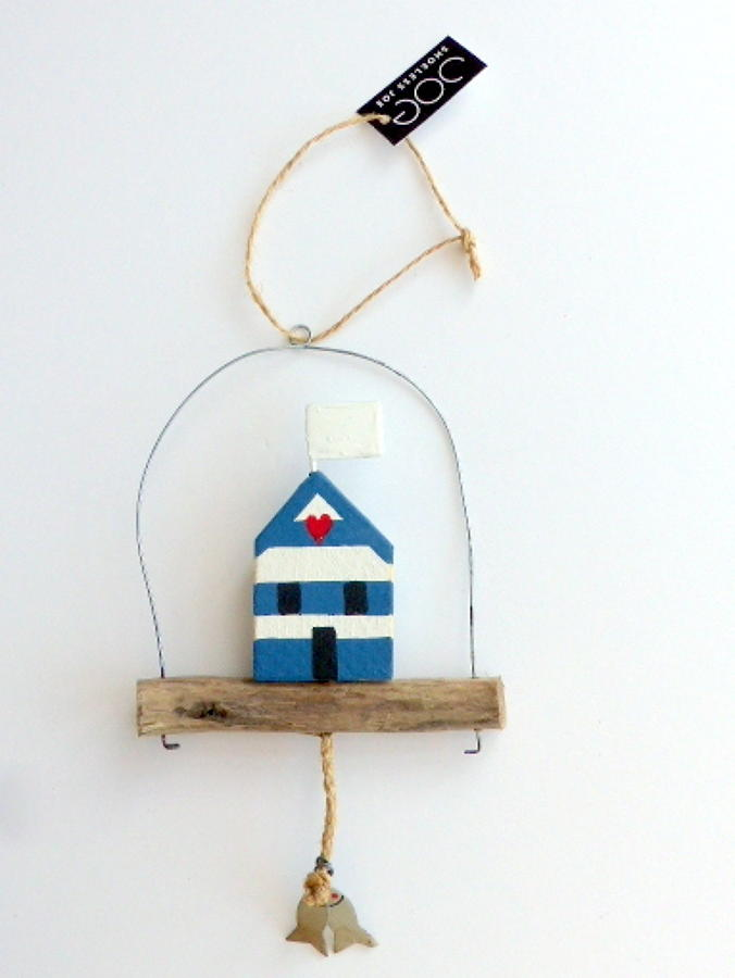 Shoeless Joe Blue Beach Hut