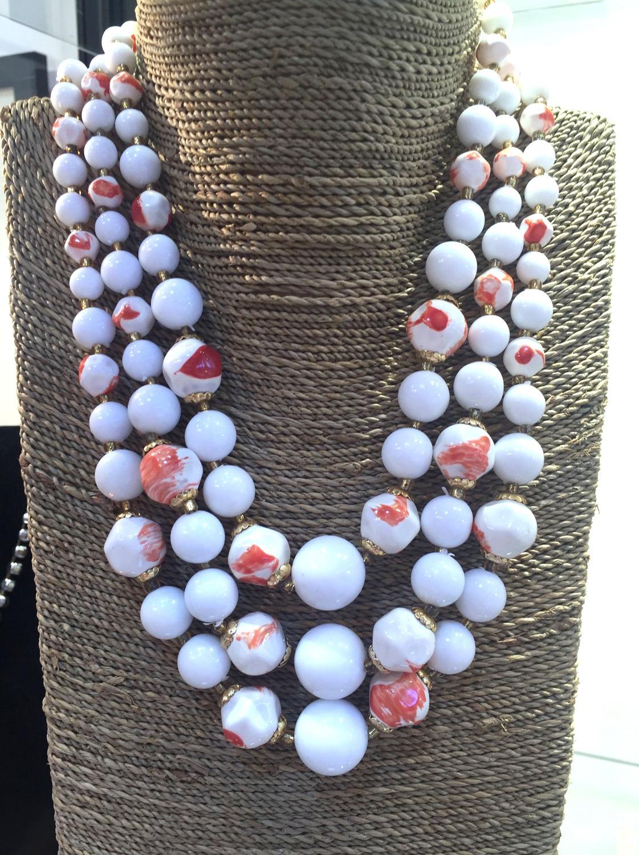 1950s Lucite Necklace