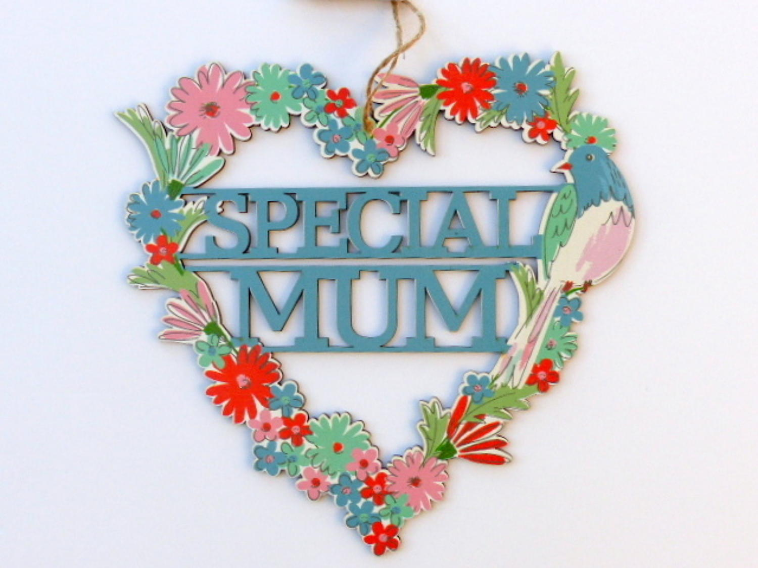 Special Mum Cut-Out Heart