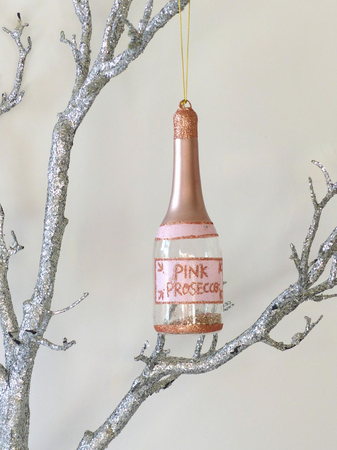 Pink Prosecco Decoration