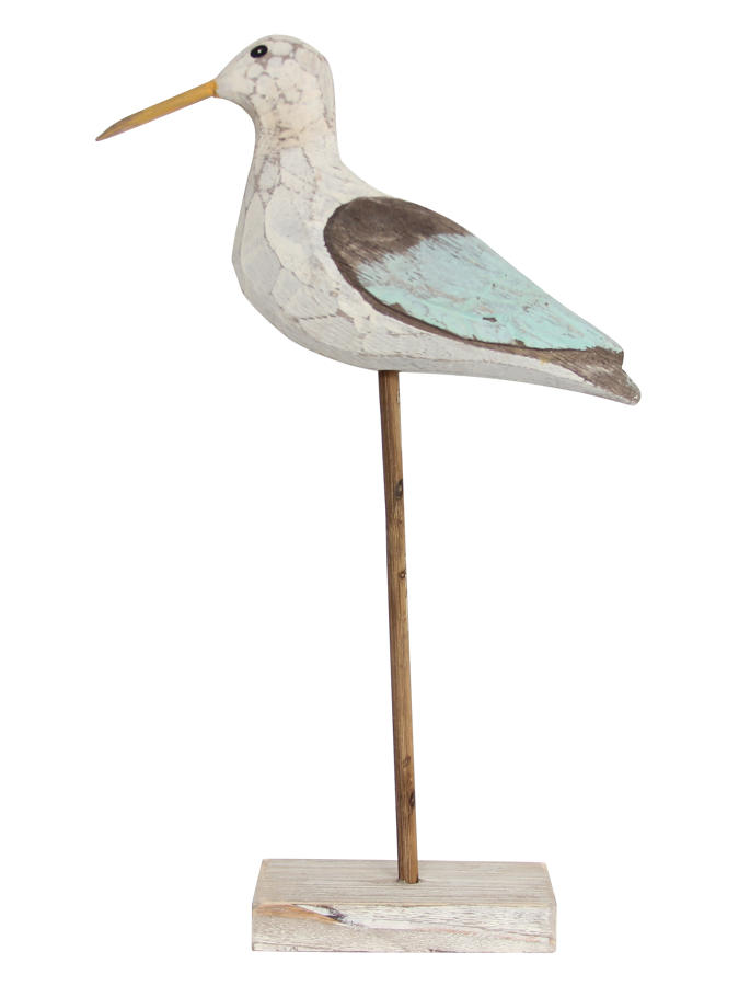 Carved Wooden Seagull