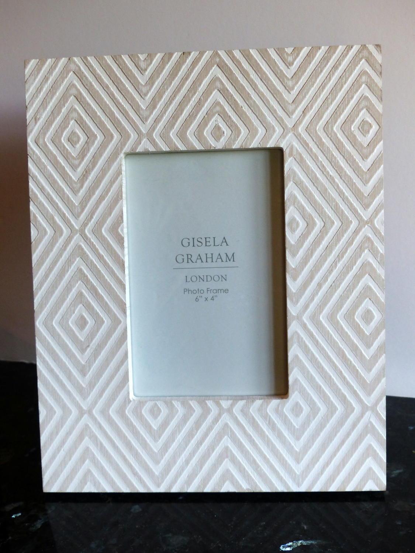 Gisela Graham Wood Leaf frame