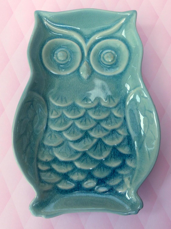 Gisela Graham Owl Dish