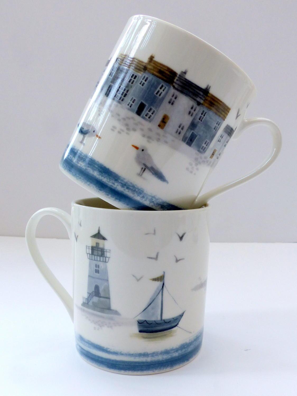 Gisela Graham Seashore Mug