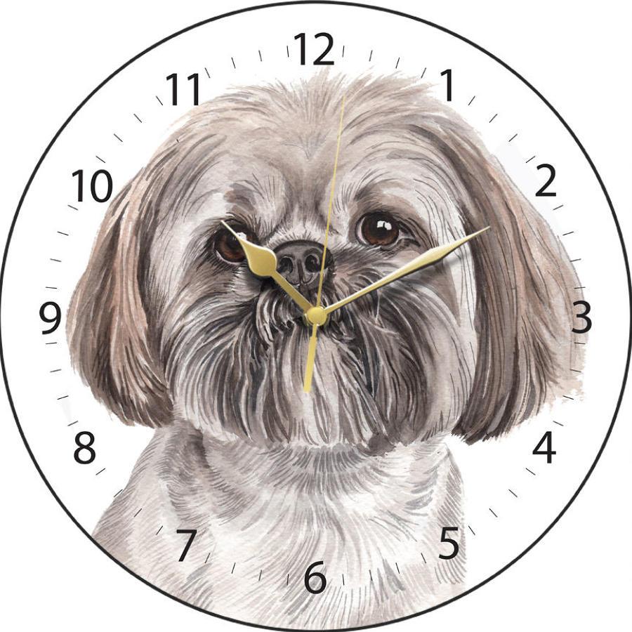 LLasa Apso Clock