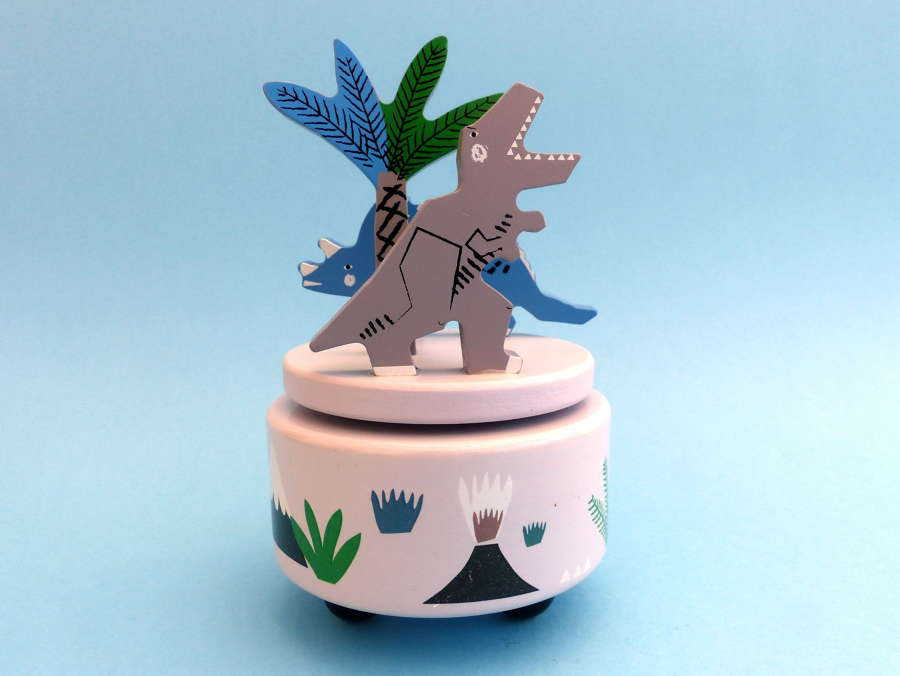 Gisela Graham Dinosaur Musical Box