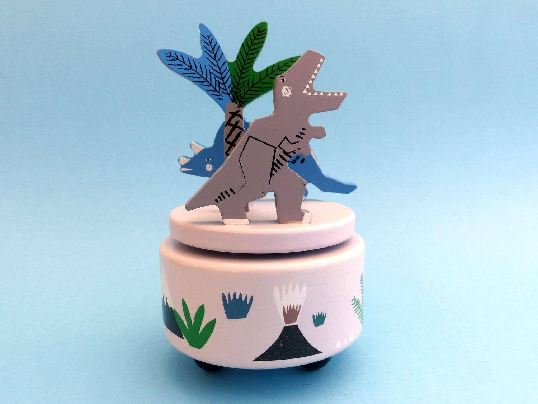 Gisela Graham Dinosaur Musical Box