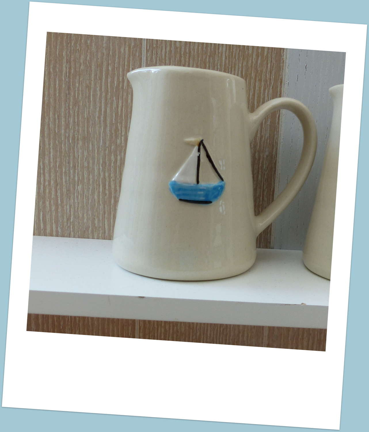 Gisela Graham Sailboat Cream Jug