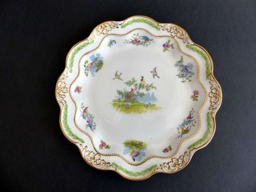 Crescent China  Fine Porcelain Cabinet Plate