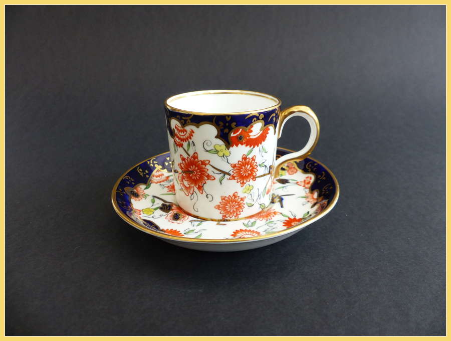 Royal Crown Derby Can and Saucer