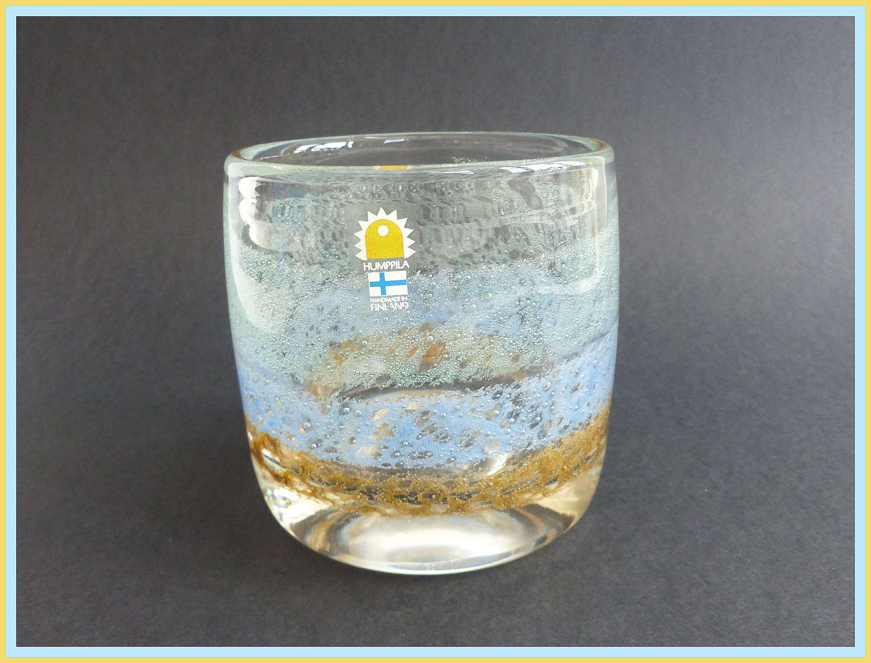 Humppila Finland Handmade Glass Vase