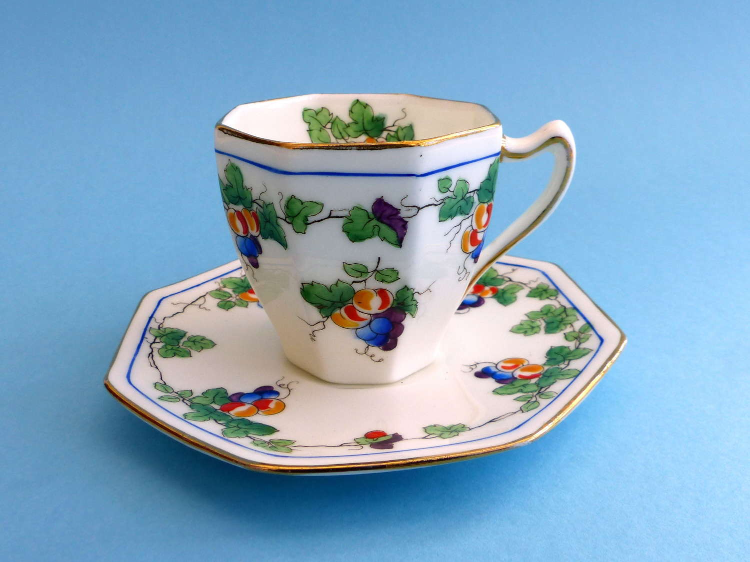 Royal Doulton Art Deco Cup and Saucer