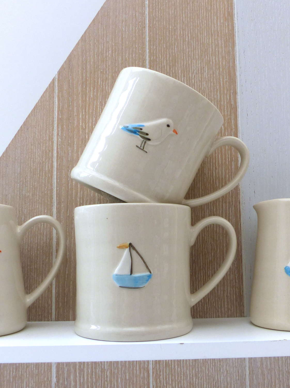 Gisela Graham Sailboat Small Mug