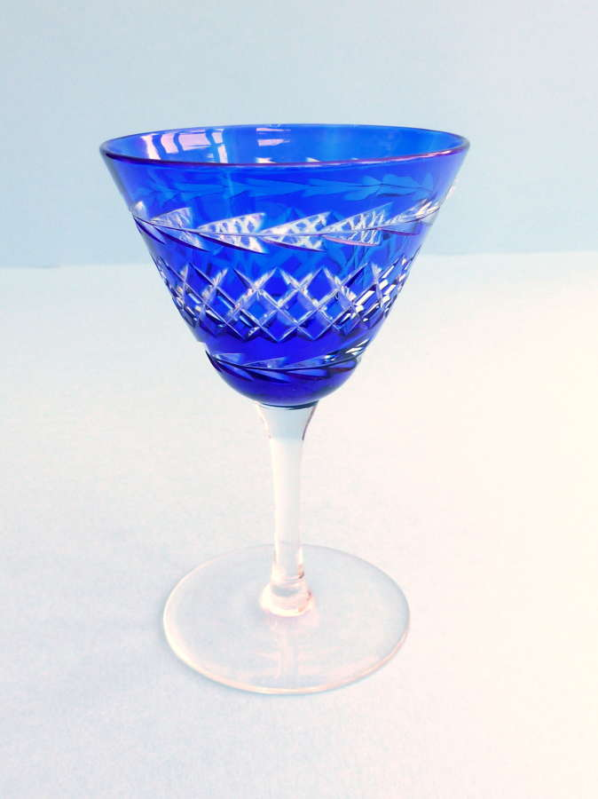 Webb Corbett Cocktail Glass